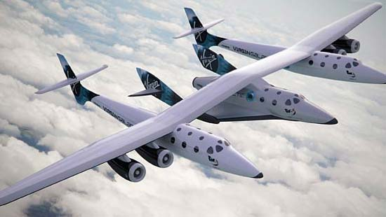 Virgin Galactic's SpaceShipTwo Lands at Spaceport America