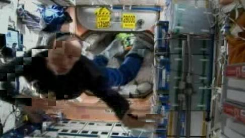 Space Station Acrobatics