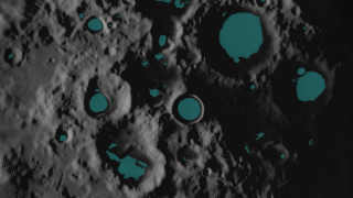 Water Ice on the Moon?