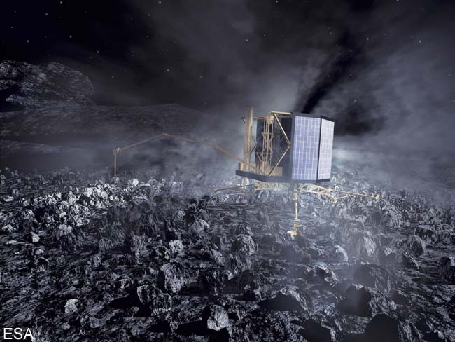 ESA Calls on Skywatchers to Track Rosetta Probe's Earth Flyby
