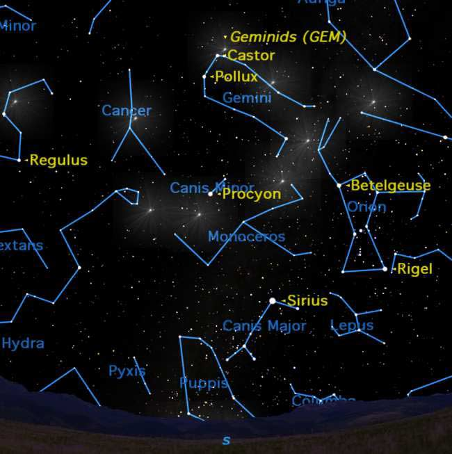 December's Geminid Meteor Shower Mystifies Scientists