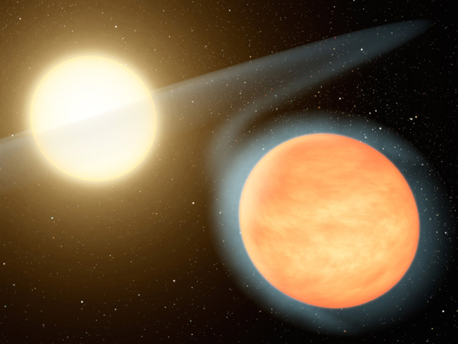 Scorching Hot Alien Planet Abounds With Carbon