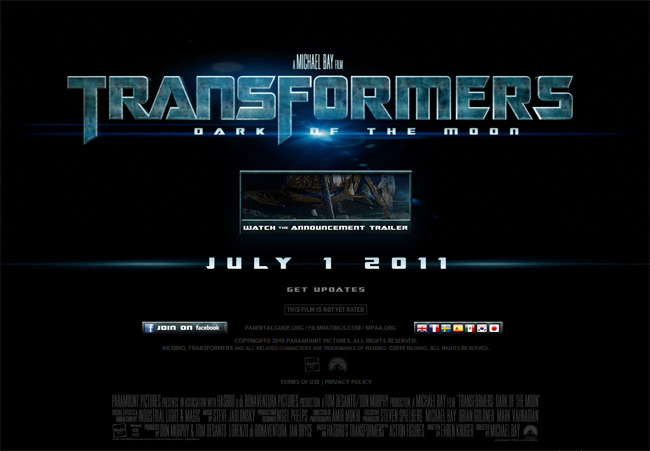 'Transformers 3' Film Trailer Rewrites Historic Moon Landing