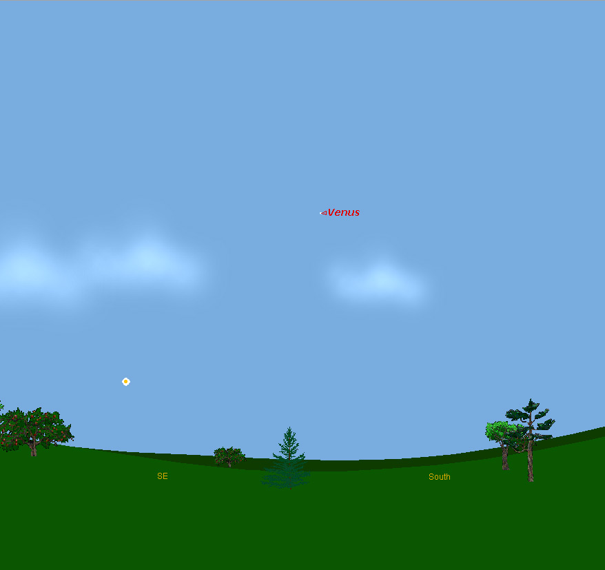 Venus Visible In The Daytime Sky