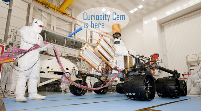 NASA's Next Mars Rover, Curiosity, Is an Internet Star