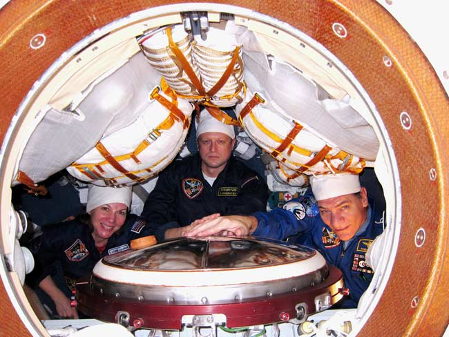 Russian Soyuz to Launch New Crewmembers to Space Station Today