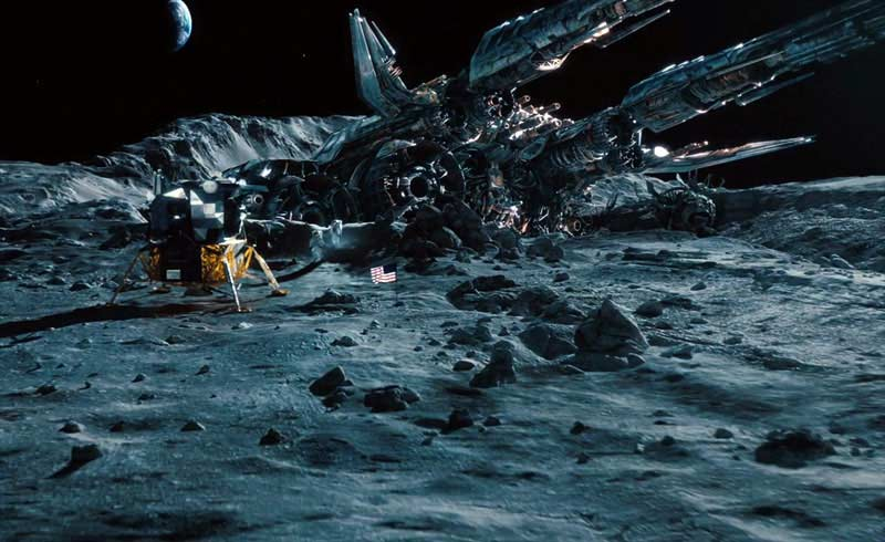 'Transformers: Dark of the Moon' Film Trailer Transforms Apollo History