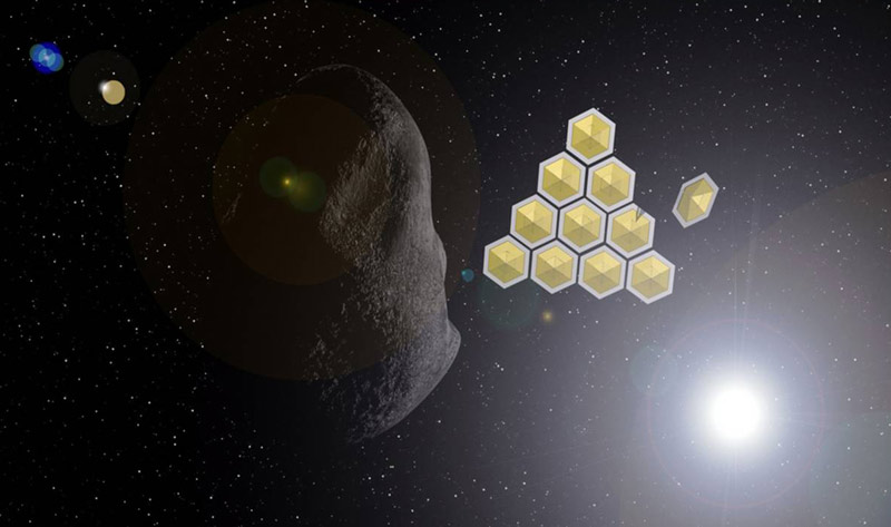 Solar Sail Flotilla Could Divert Possibly Dangerous Asteroid