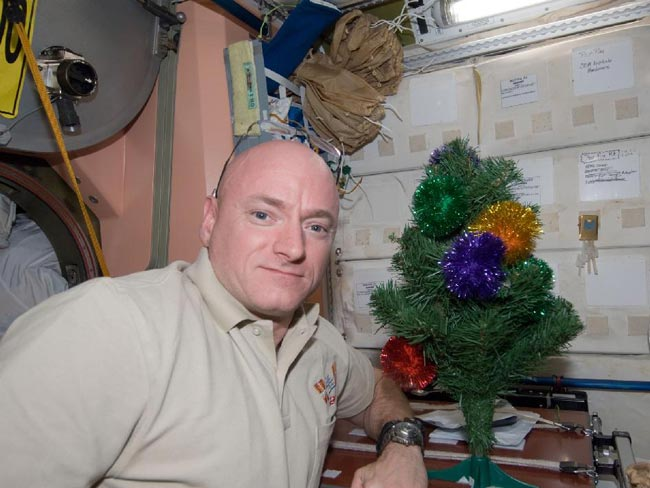 How Astronauts Celebrate Christmas in Space