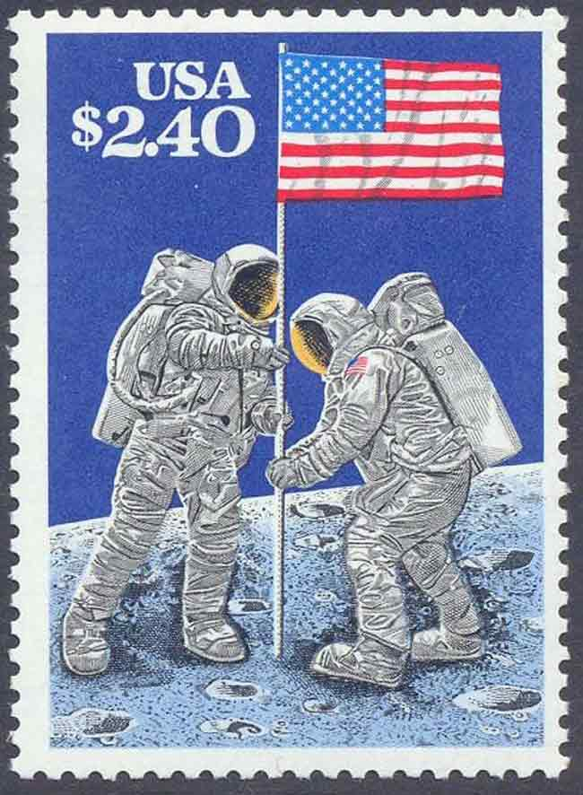 Moon Landing Postal Image Needs Your Stamp of Approval