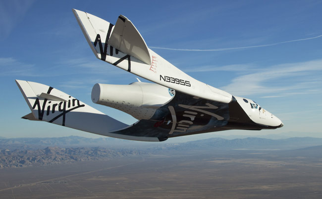 SpaceShipTwo's First Solo Test Flight