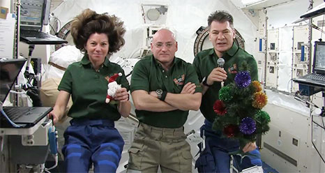 Astronauts Ring In New Year With Some Time Off