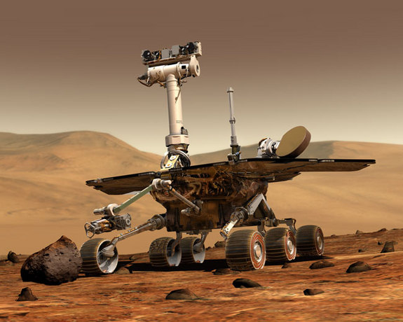 NASA's twin Mars rovers, Spirit and Opportunity, have now spent 10 years on the surface of Mars.