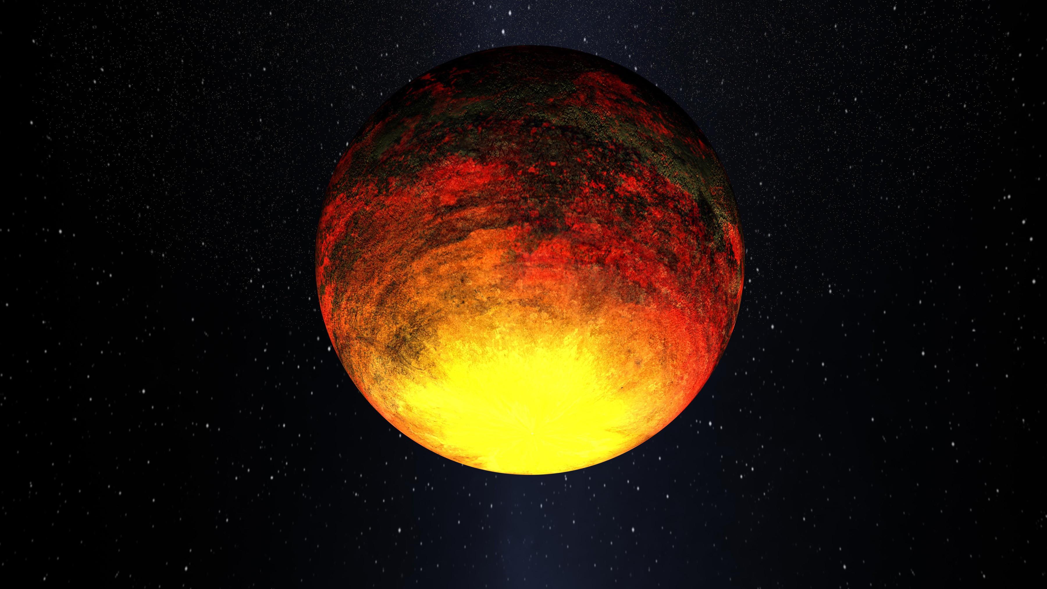 Rocky planet Kepler-10b