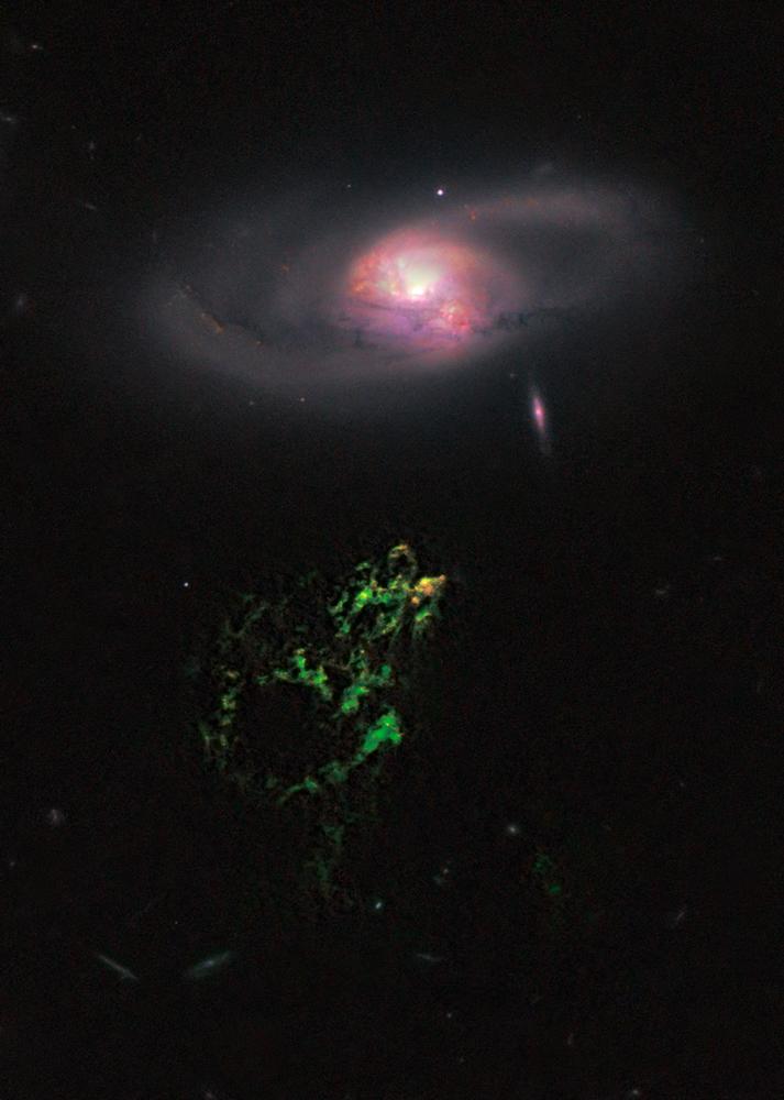 Hubble Photo of Hanny's Voorwerp