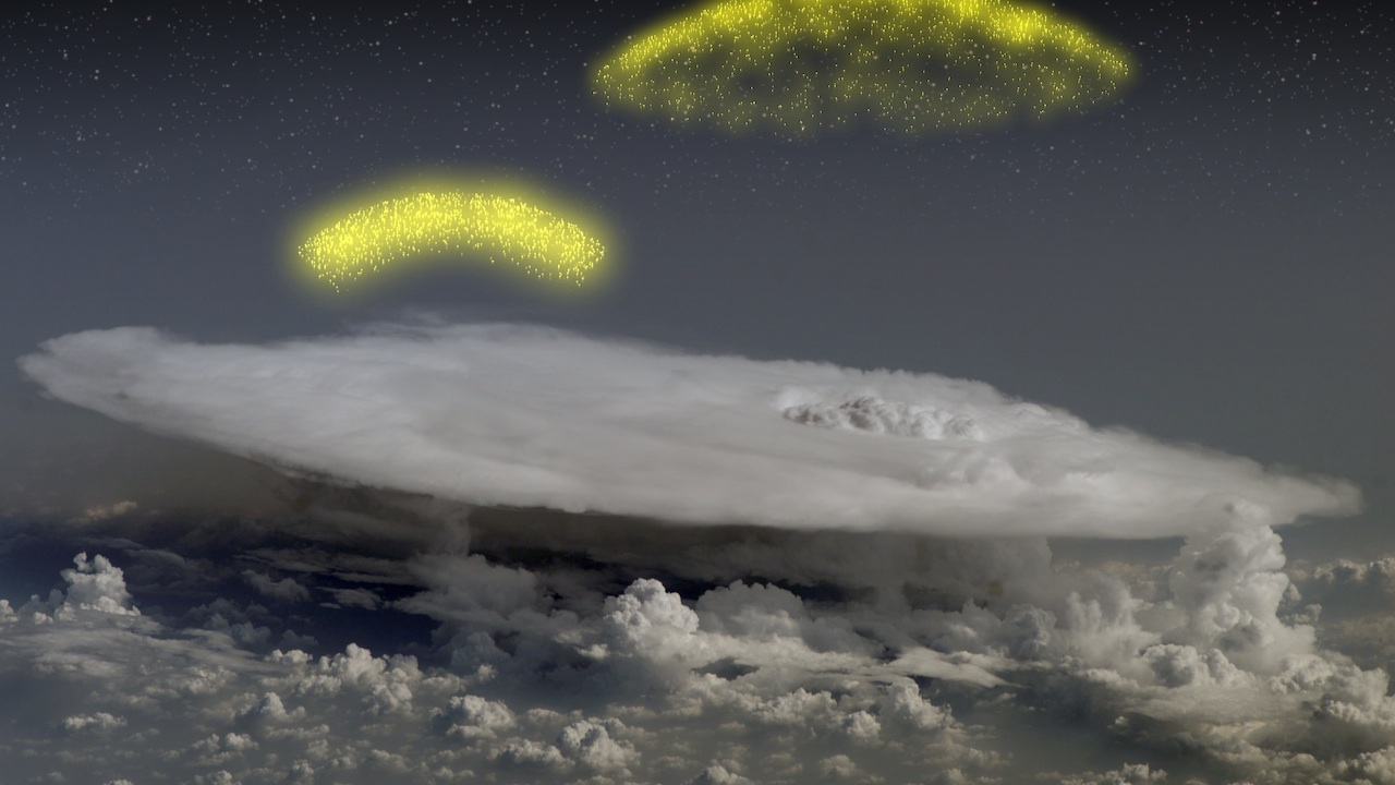 Thunderstorms on Earth Hurl Antimatter Into Space