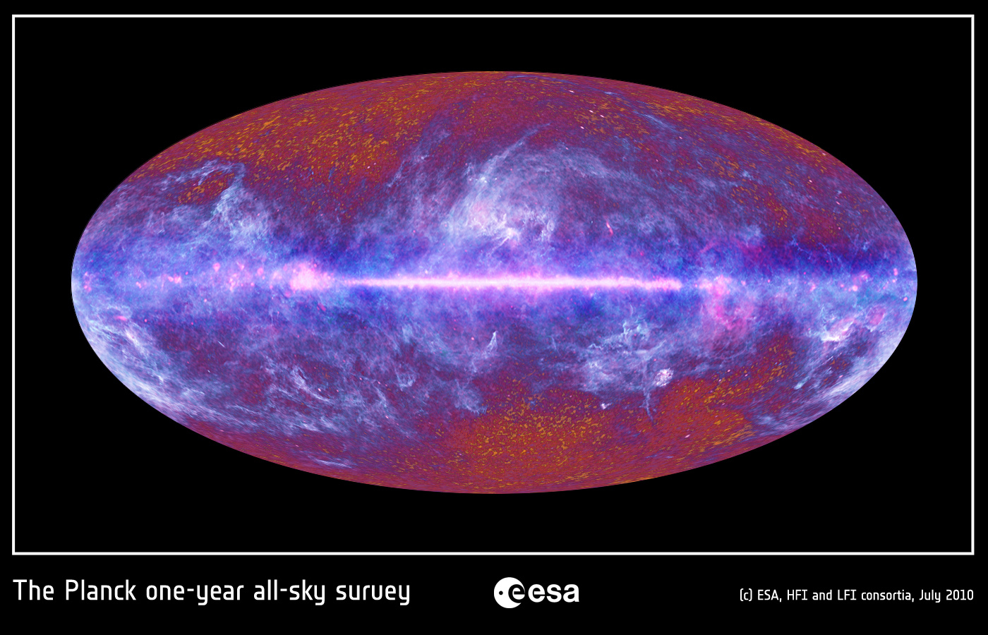 Echoes of the Big Bang Revealed by European Spacecraft