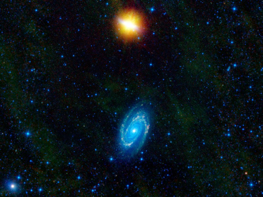 Mismatching Galaxies Revealed in New Photo