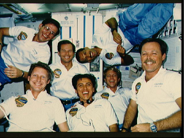 Senator Reunites Former Space Shuttle Columbia Crew