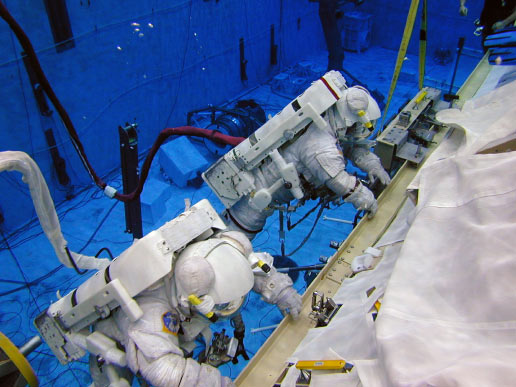 Spacewalking: Astronauts Need More Than the Right Stuff
