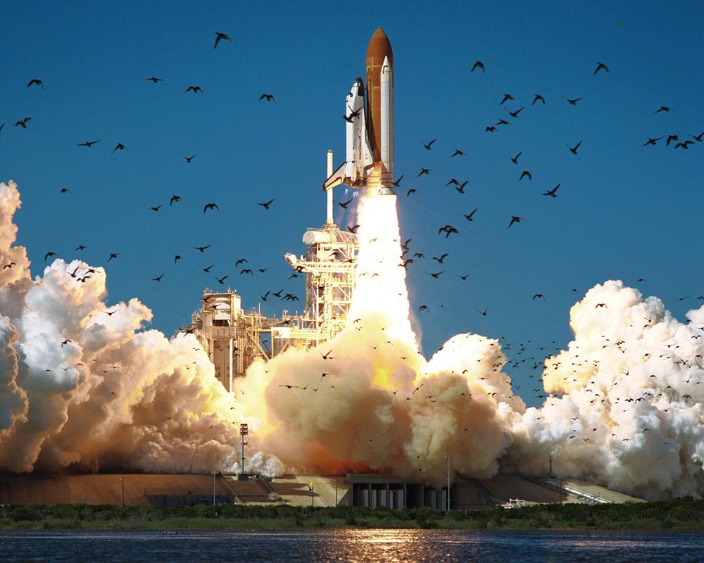 STS-51L Launch