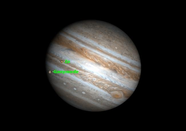 big jupiter moons - photo #19