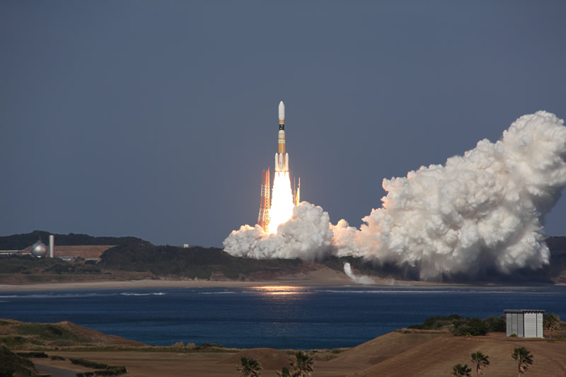 Japan HTV-2 Launch