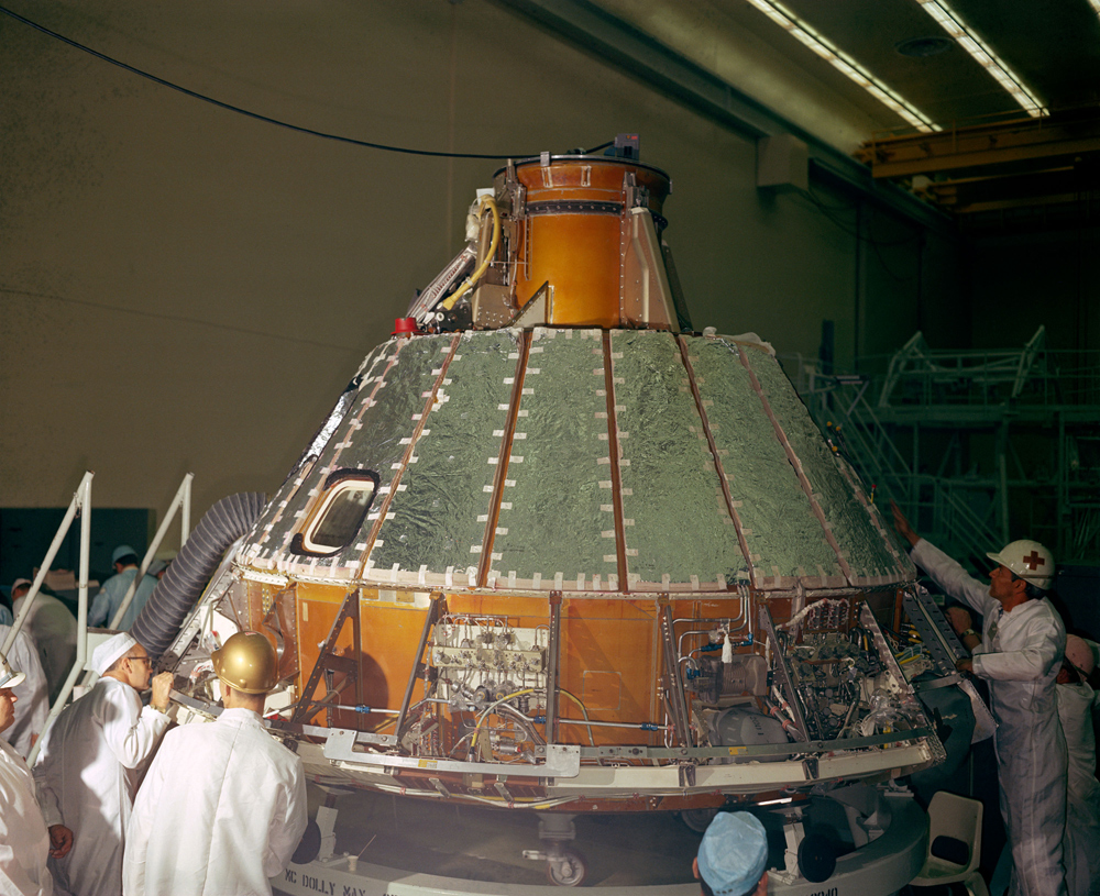 Building the Apollo 1 Craft