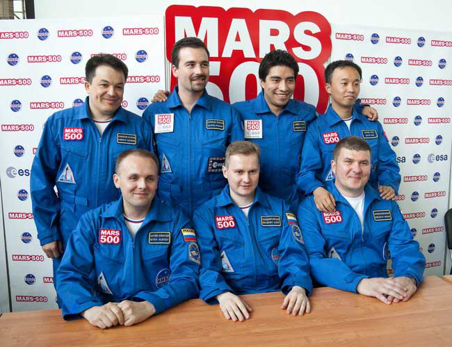 Mock Mars Mission Crew Prepares to 'Land' on Red Planet