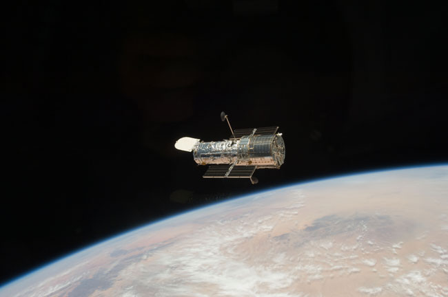An Icon in Space