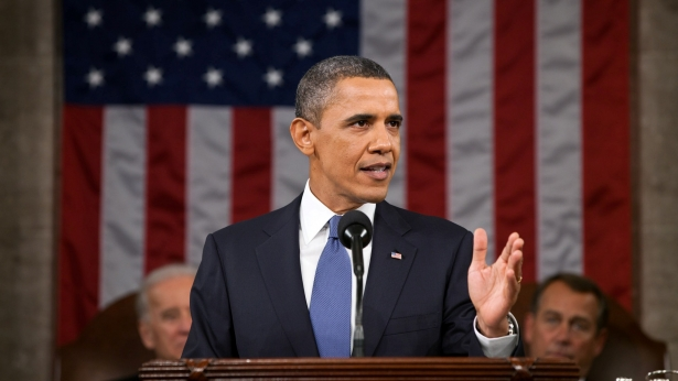 Obama Evokes Space Race in Naming U.S. Challenges