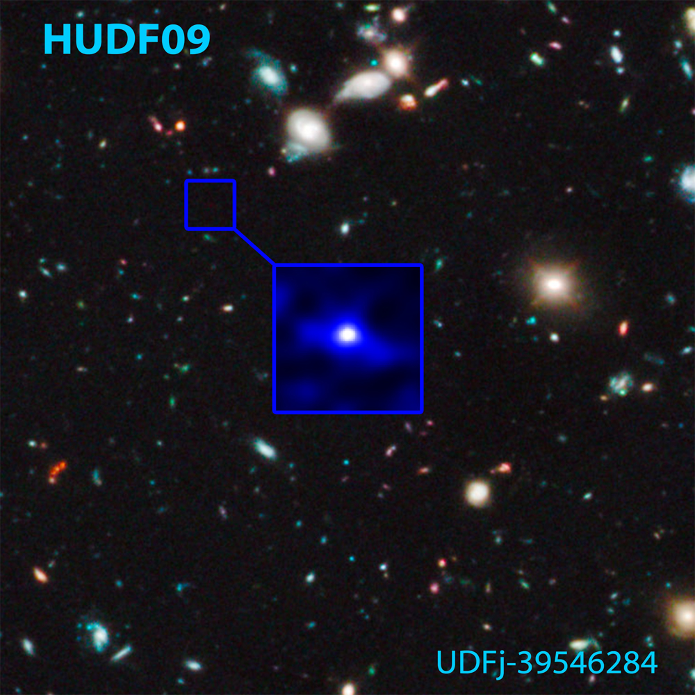 Oldest, Most Distant Galaxy Seen by Hubble