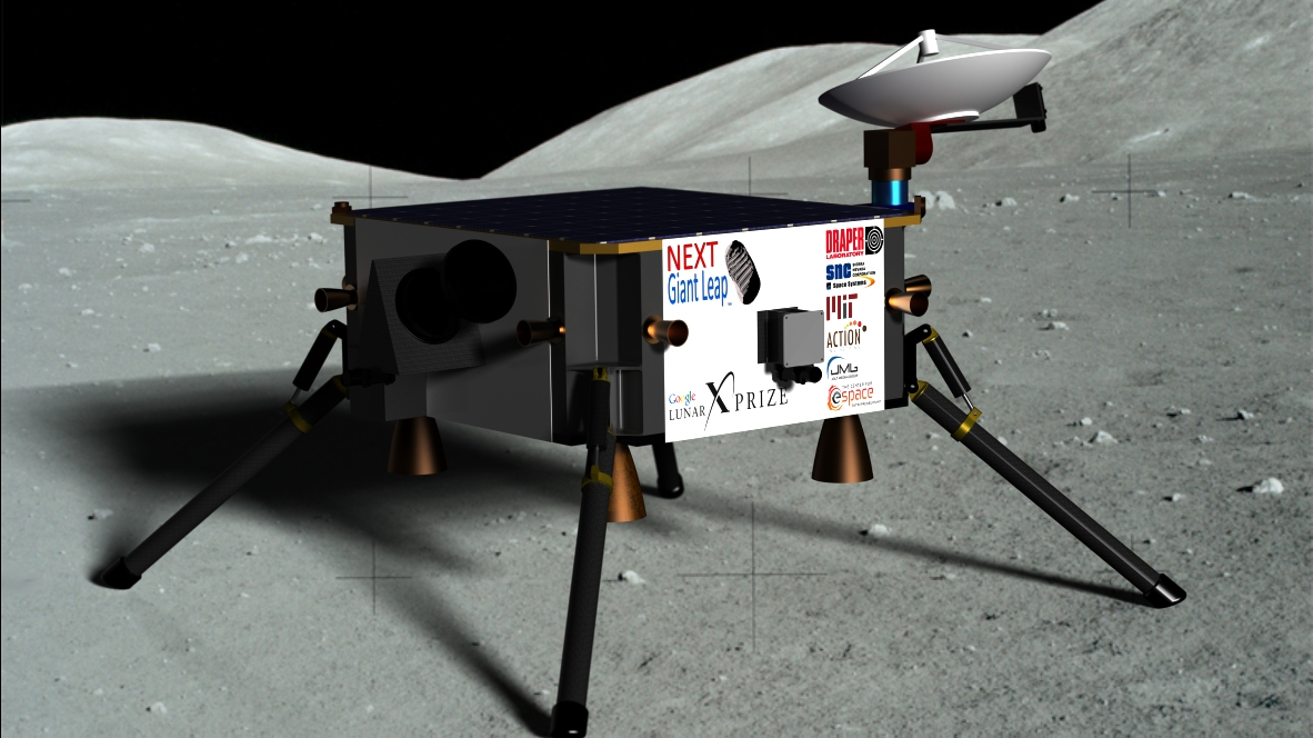 Coming Soon: Hopping Moon Robots for Private Lunar Landing