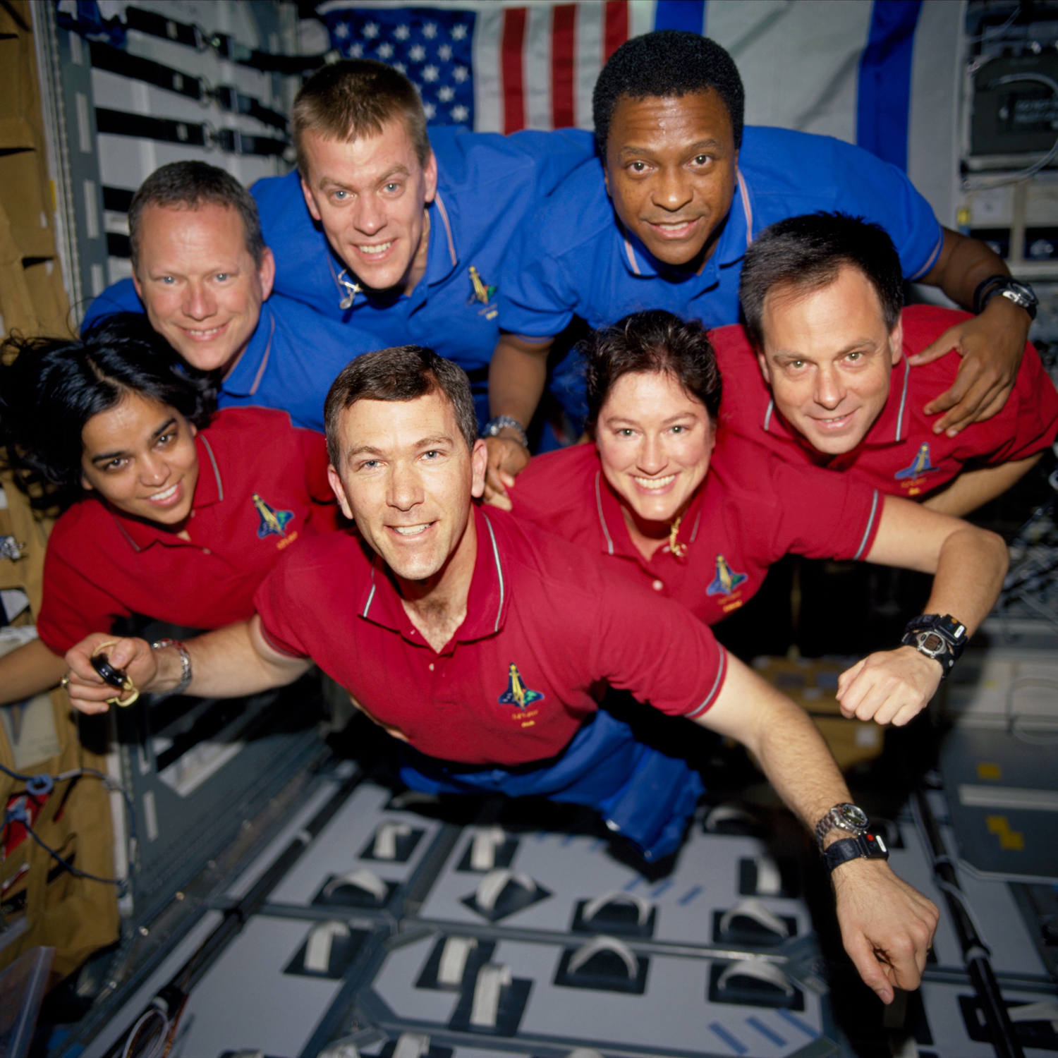 Shuttle Columbia Crew Doing Well, Studies Calcium Loss