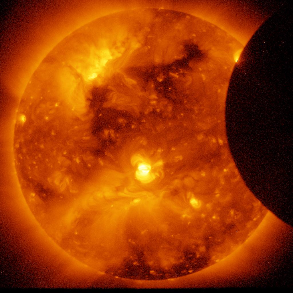Hinode Satellite - Annular Solar Eclipse
