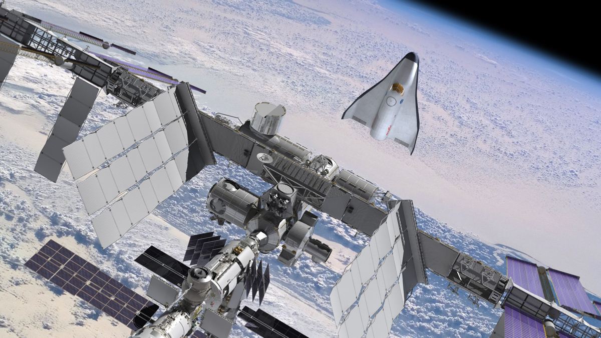Proposed Private Space Plane Gets Fiery Name: Prometheus