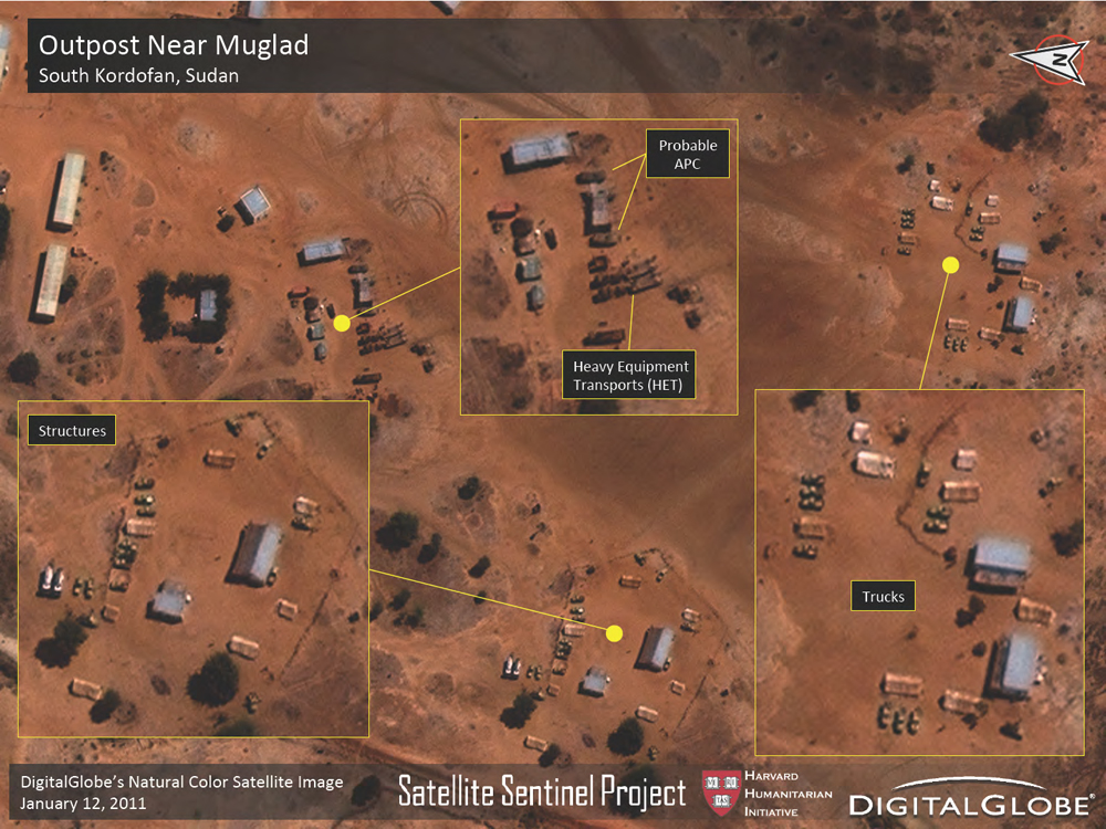 George Clooney's Satellite Sentinel Project for Human Rights Enters New Phase