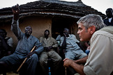 Actor and feet-on-the-ground activist, George Clooney, is tapping into satellite remote sensing to defuse tensions in Sudan.