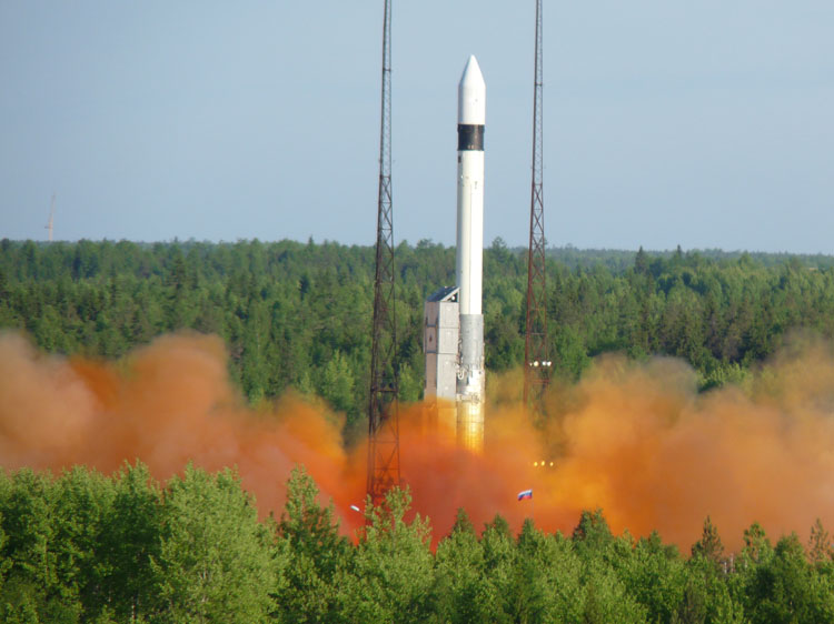 Russia Loses New Military Satellite in Space, Reports Say