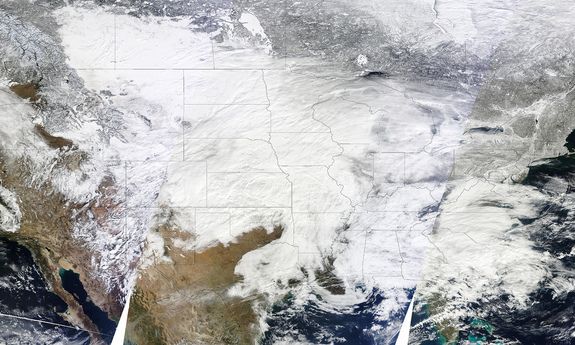 The storm on Jan. 31, 2011.