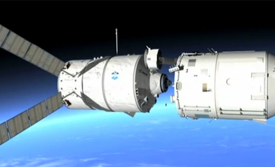 Europe's Heavy Hauler Begins Space Station Run