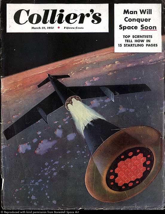 Von Braun Spaceship Concept 1952