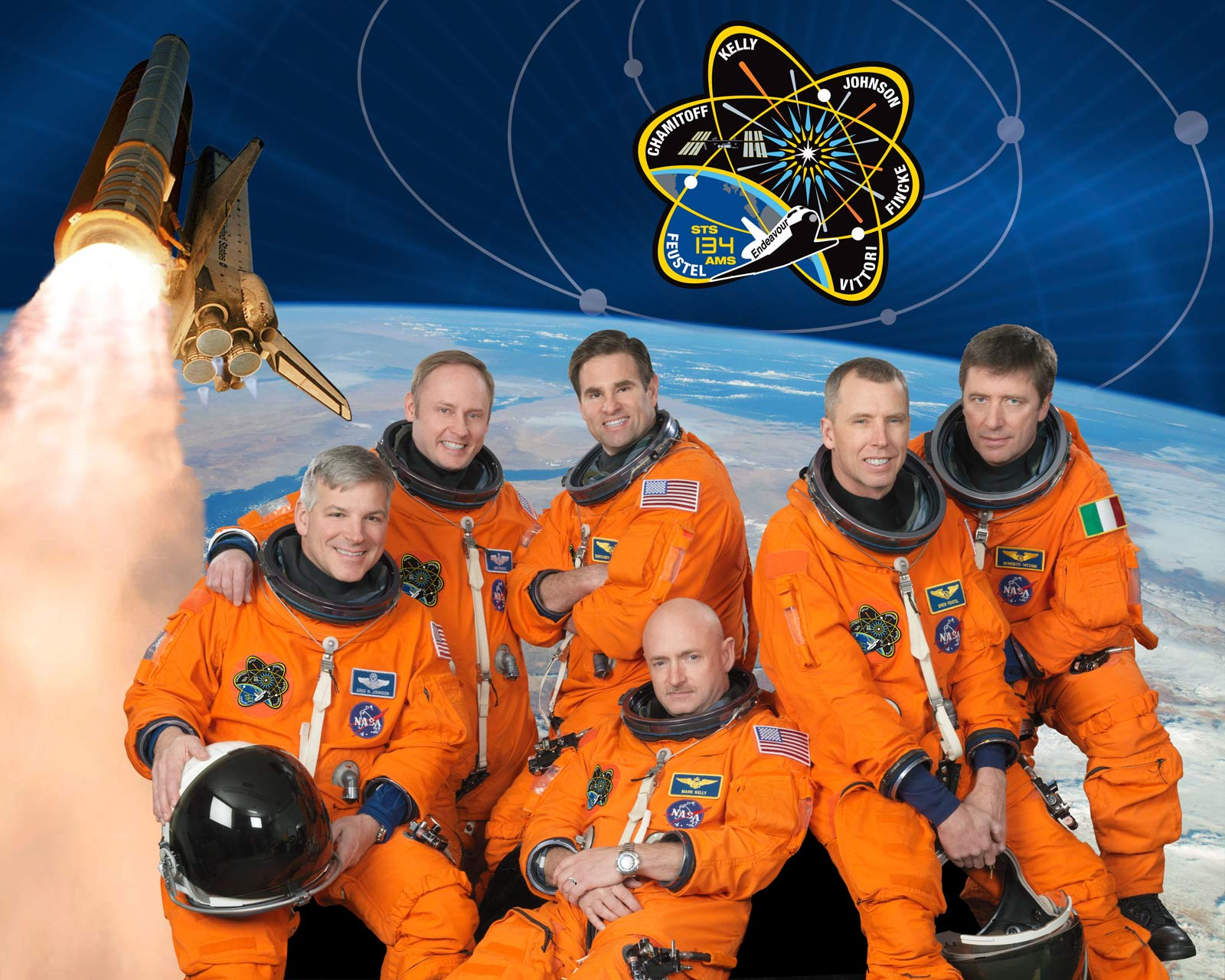STS-134 Crew Photo