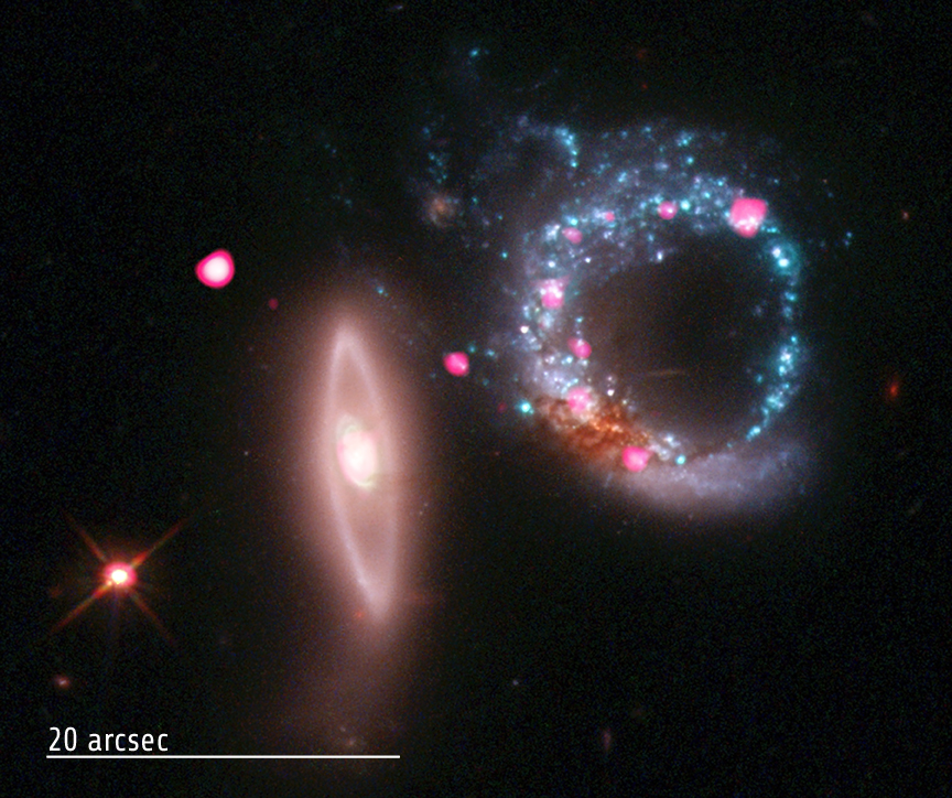 Cosmic Valentine's Day Photo Reveals Black Hole Ring