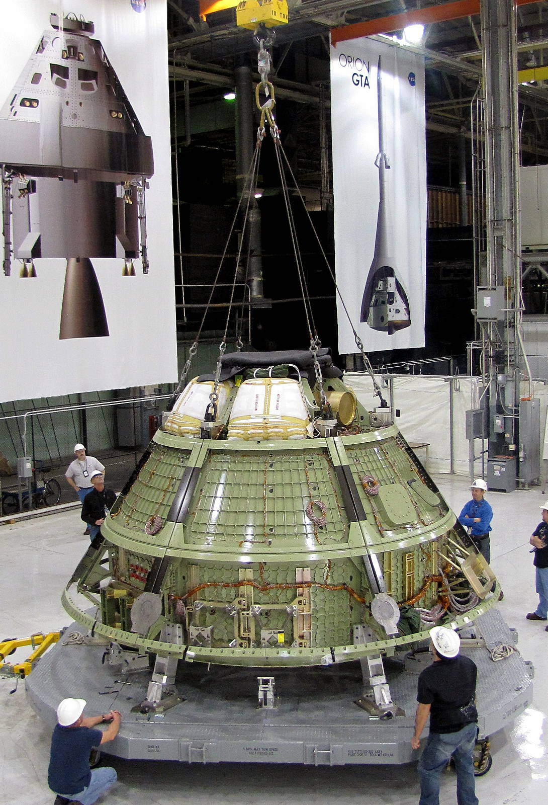 NASA Orion Space Capsule Shipped for Ground Tests