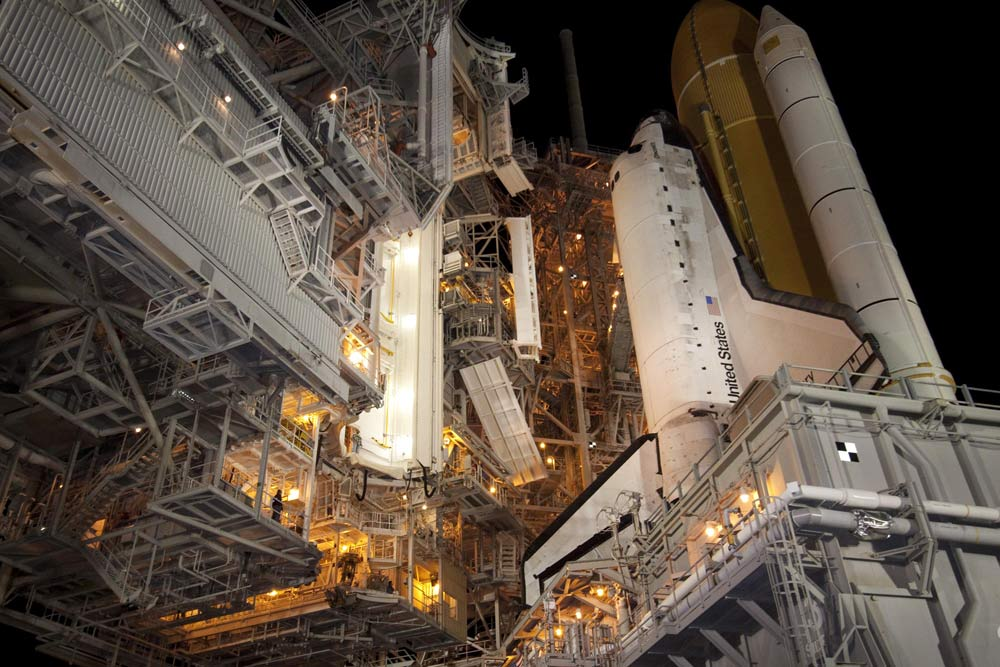 Space Shuttle Discovery on Track for Final Launch Thursday