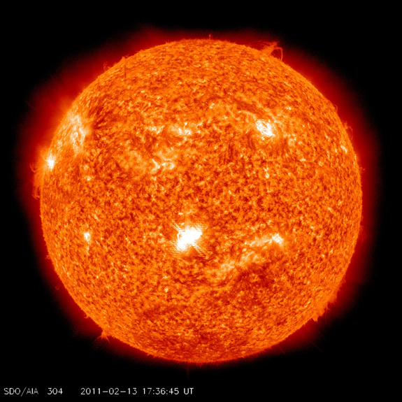 Space Weather: Sunspots