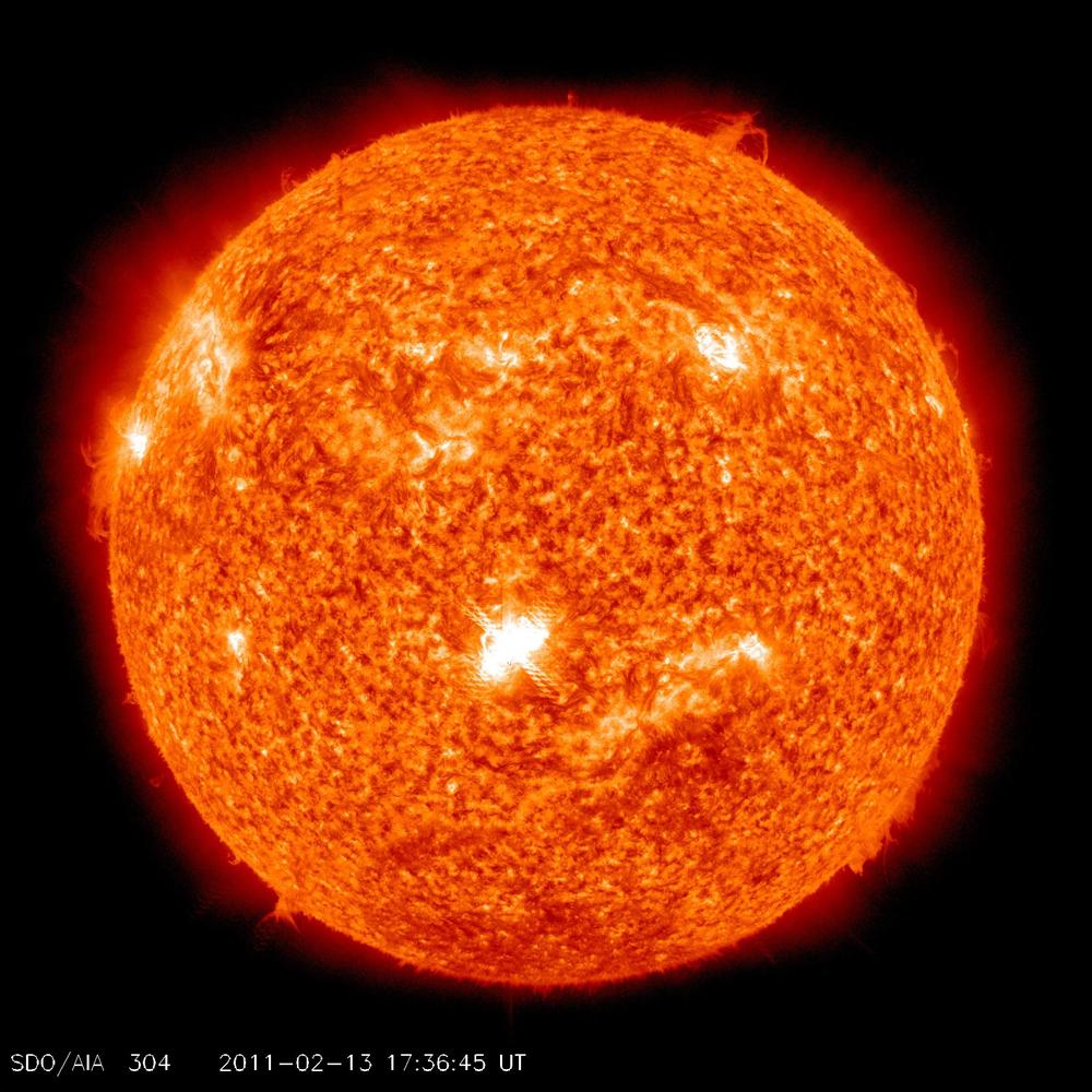 Sunspot 1158 Solar Flare