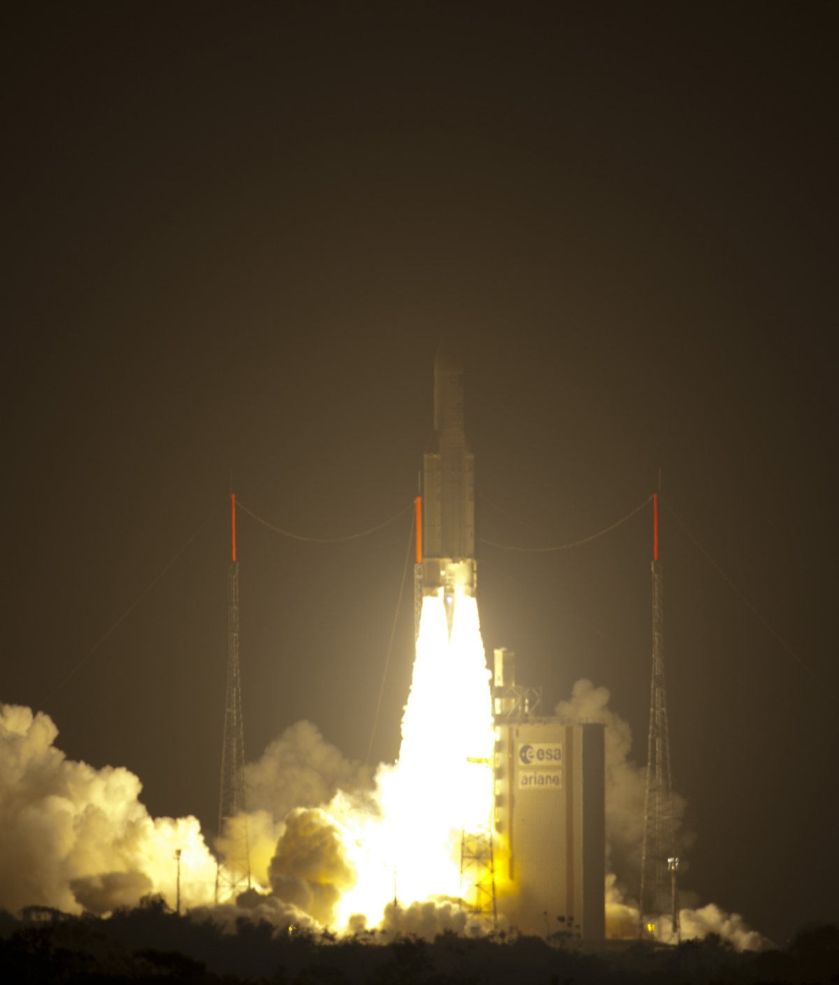 ESA's ATV-2 Johannes Kepler Launches Toward ISS