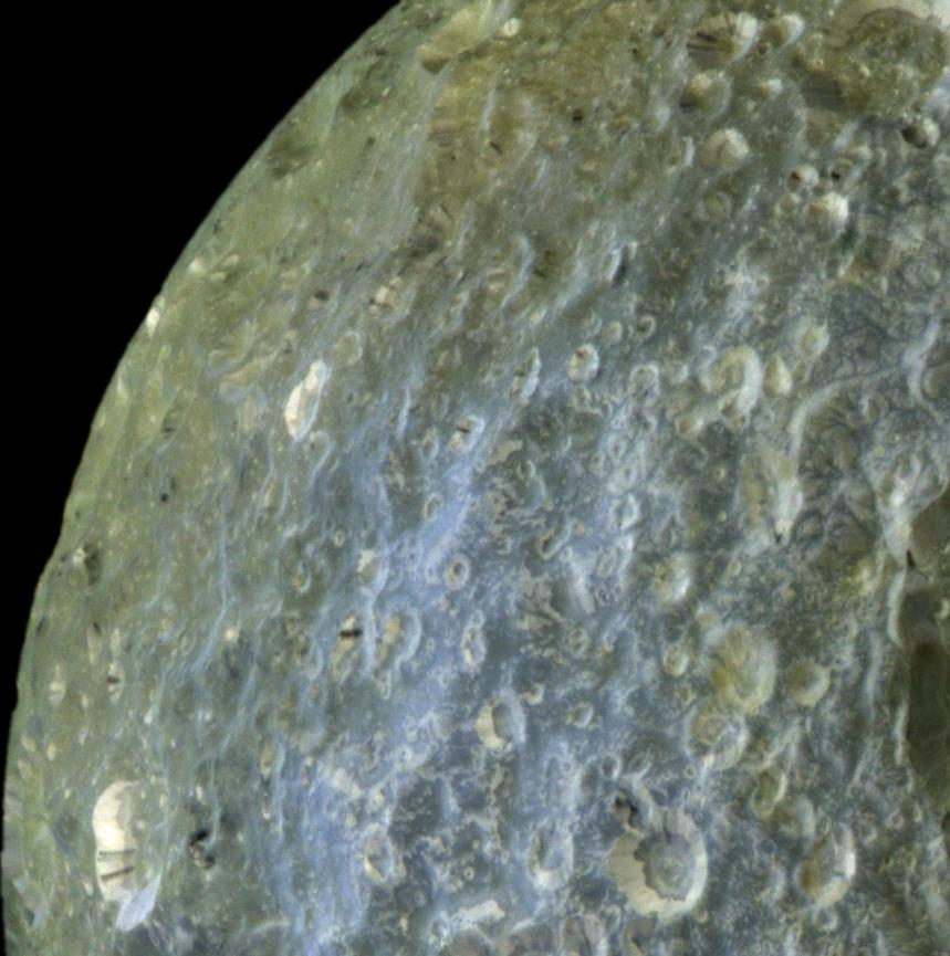 Streaked Craters of Mimas